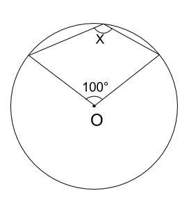 中学数学・高校受験chu-su- 円周角の定理 例題6 図1