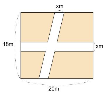 中学数学・高校受験chu-su- 2次方程式 図形 問題2 図1