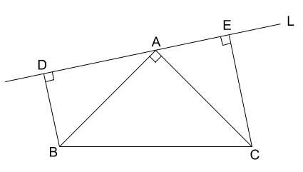 中学数学・高校受験chu-su- 証明 直角三角形 図2-1