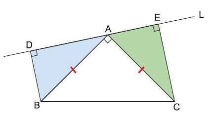 中学数学・高校受験chu-su- 証明 直角三角形 図2-2