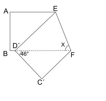 中学数学・高校受験chu-su- 求角 折り返し 2-1