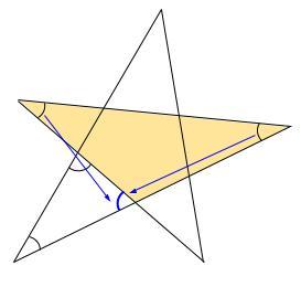 中学数学・高校受験chu-su- 求角 星 図3
