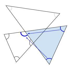 中学数学・高校受験chu-su- 求角 星 図2-3
