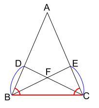 中学数学・高校受験chu-su- 証明 二等辺三角形である 図2-4