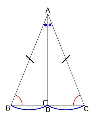 中学数学・高校受験chu-su- 図形 二等辺三角形 図3