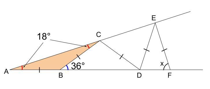 中学数学・高校受験chu-su- 図形 二等辺三角形 図3-2