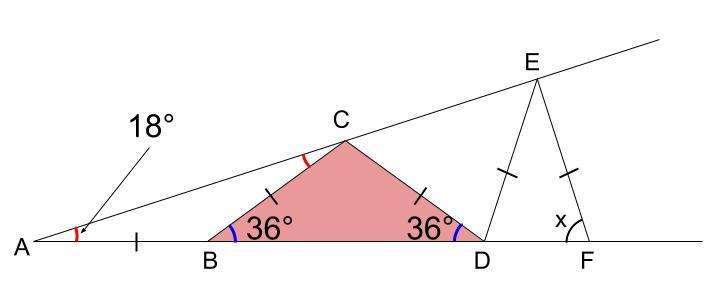 中学数学・高校受験chu-su- 図形 二等辺三角形 図3-3