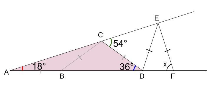 中学数学・高校受験chu-su- 図形 二等辺三角形 図3-4