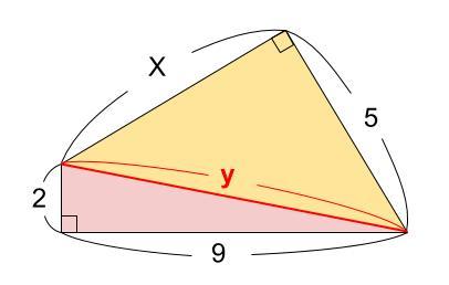 中学数学・高校受験chu-su- 三平方の定理 例題2 図2