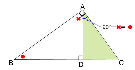 中学数学・高校受験chu-su- 証明 直角三角形 2-1-3