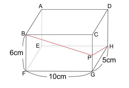 中学数学・高校受験chu-su- 糸の巻き付け 三平方の定理 図1