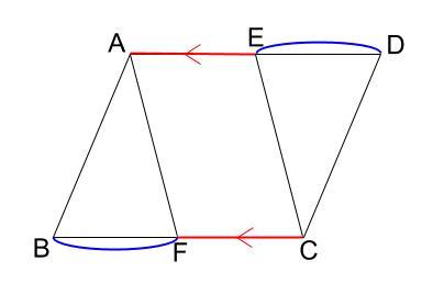 中学数学・高校受験chu-su- 証明 平行四辺形であることの証明 図1-2