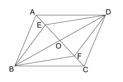 中学数学・高校受験chu-su- 証明 平行四辺形であることの証明 図2-1