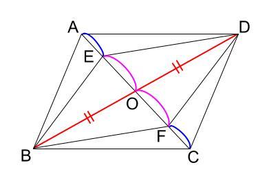 中学数学・高校受験chu-su- 証明 平行四辺形であることの証明 図2-2