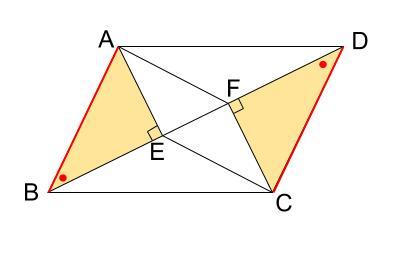 中学数学・高校受験chu-su- 証明 平行四辺形であることの証明 図3-4