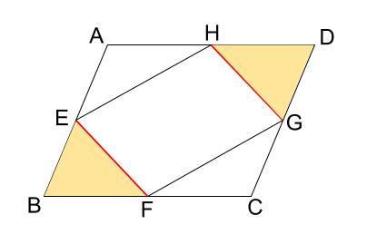 中学数学・高校受験chu-su- 証明 平行四辺形であることの証明 図6-2