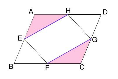 中学数学・高校受験chu-su- 証明 平行四辺形であることの証明 図6-4