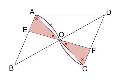 中学数学・高校受験chu-su- 証明 平行四辺形の性質の利用 図6