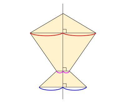 中学数学・高校受験chu-su- 線対称 図3