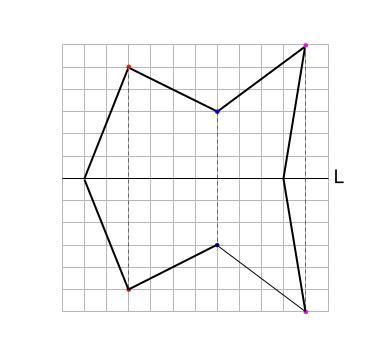 中学数学・高校受験chu-su- 線対称 図7