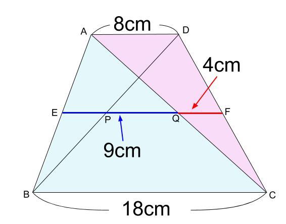中学数学・高校受験chu-su- 中点連結定理 図1-4