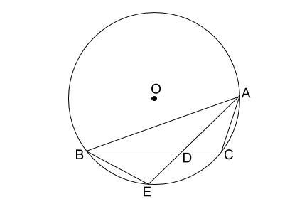 中学数学・高校受験chu-su- 円の総合問題1 図1