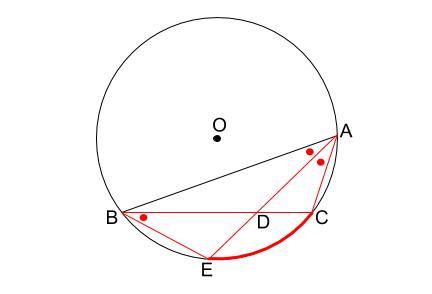 中学数学・高校受験chu-su- 円の総合問題1 図2