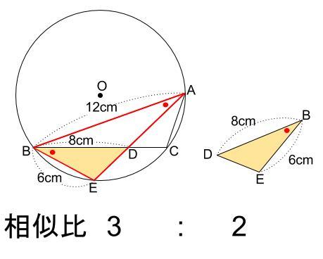 中学数学・高校受験chu-su- 円の総合問題1 図6