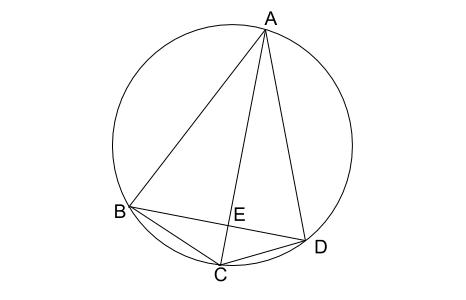 中学数学・高校受験chu-su- 円の入試問題 図1