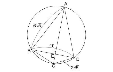 中学数学・高校受験chu-su- 円の入試問題 図3