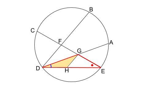 中学数学・高校受験chu-su- 円の総合問題 難問 図