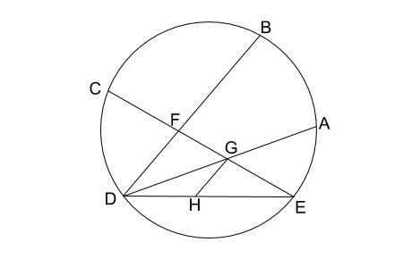 中学数学・高校受験chu-su- 円の総合問題 難問 図1