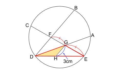 中学数学・高校受験chu-su- 円の総合問題 難問 図6