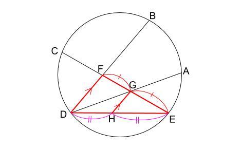 中学数学・高校受験chu-su- 円の総合問題 難問 図7