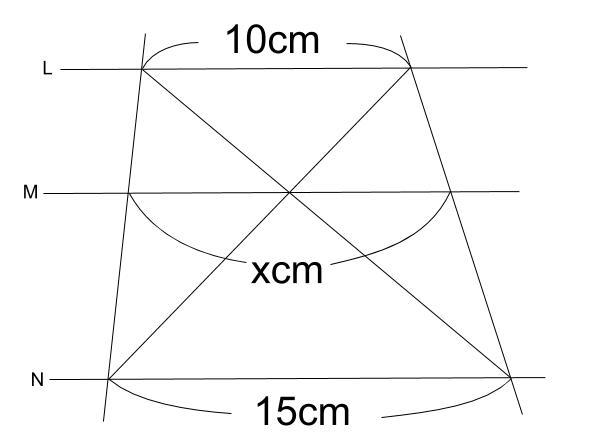 中学数学・高校受験chu-su- 平行線と線分の比 2-1