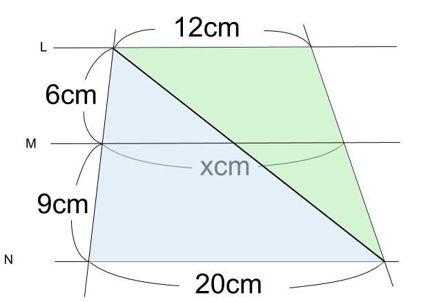 中学数学・高校受験chu-su- 平行線と線分の比 2-12