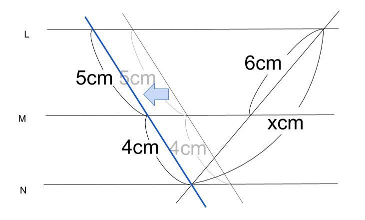 中学数学・高校受験chu-su- 平行線と線分の比 1-6