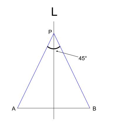 中学数学・高校受験chu-su- 作図 円周角の定理の利用2