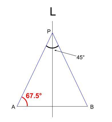 中学数学・高校受験chu-su- 作図 円周角の定理の利用6