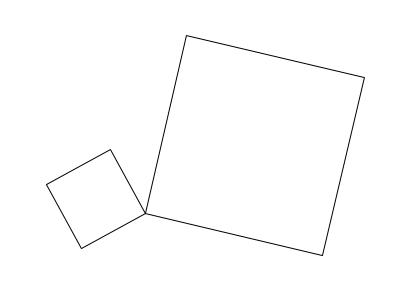 中学数学・高校受験chu-su- 作図 正方形の面積の差1