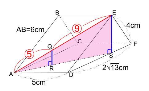 中学数学・高校受験chu-su- 三角柱 難問 図4-2