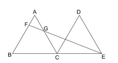 中学数学・高校受験chu-su- 正三角形と相似 図1