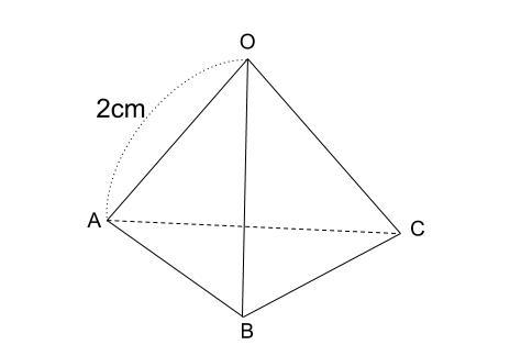 中学数学・高校受験chu-su- 正四面体の体積 図1