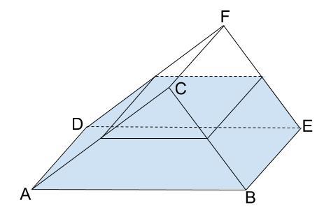 中学数学・高校受験chu-su- 三角柱の容器と相似 その2