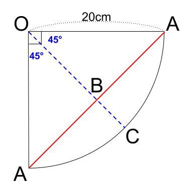 中学数学・高校受験chu-su- 三平方の定理 円錐表面4