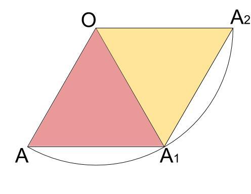 中学数学・高校受験chu-su- 円表面に糸を巻く 2周 その1-2
