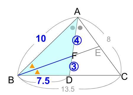 中学数学・高校受験chu-su- 角の2等分と線分の比 10