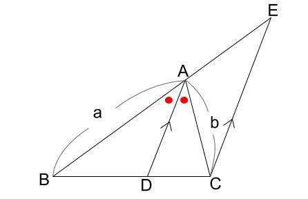 中学数学・高校受験chu-su- 角の2等分と線分の比2