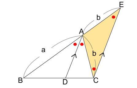 中学数学・高校受験chu-su- 角の2等分と線分の比4