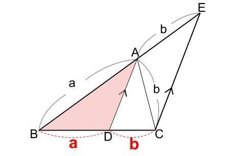 中学数学・高校受験chu-su- 角の2等分と線分の比5